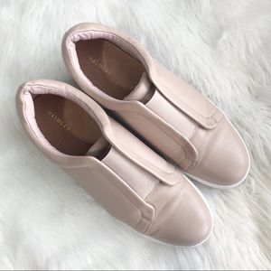 Halogen • Blush Nude Slip On Sneakers